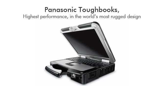 Rugged Panasonic Toughbooks for GSA