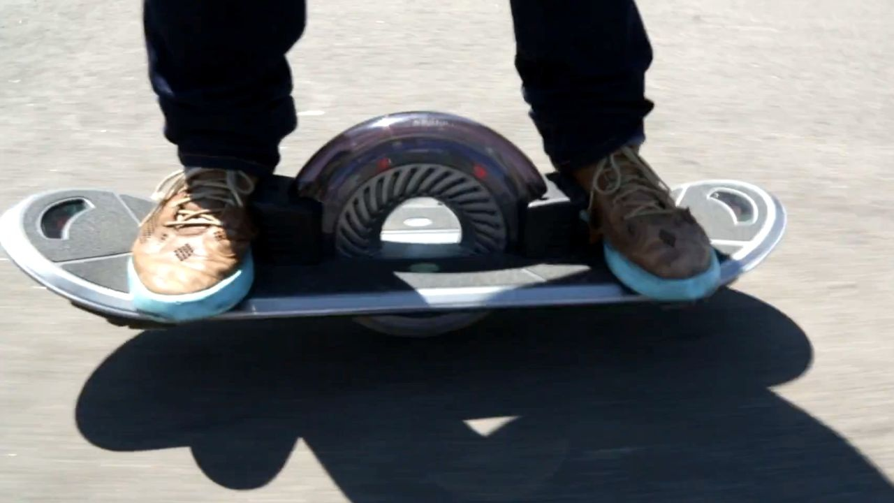 The problem with the Hoverboard 360? It's not a hoverboard