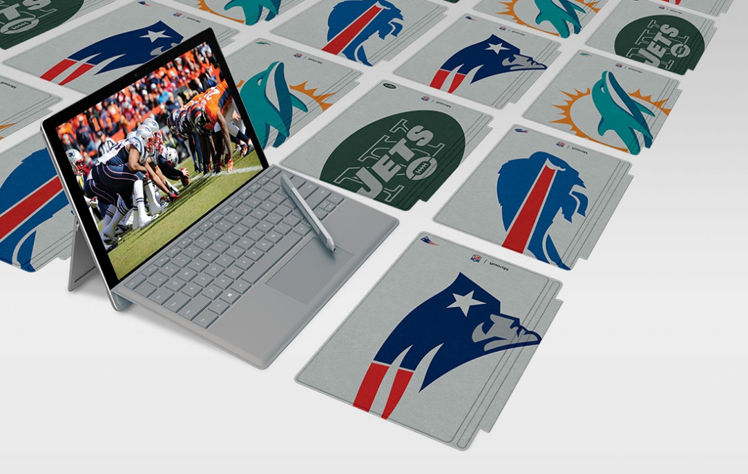 Microsoft Surface Special Edition Nfl Type Covers Are Here