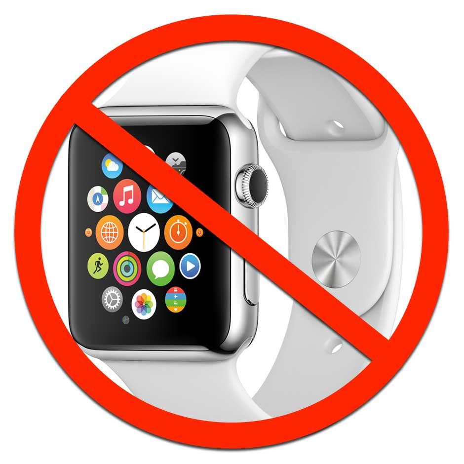 Universities: No smart watches allowed (2018)