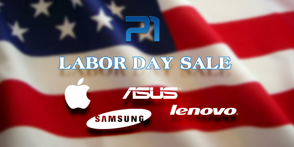 Labor Day Sale Apple, Samsung, ASUS, Lenovo laptops and Apple iPads on sale