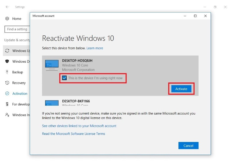Windows 10 preview build 14371 big improvements on activation and how to reactivate windows 10 after a hardware change ccuart Image collections