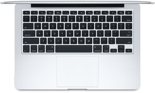 Apple Mac Book Pro 13 Inch Retina ME866LL/A Keyboard