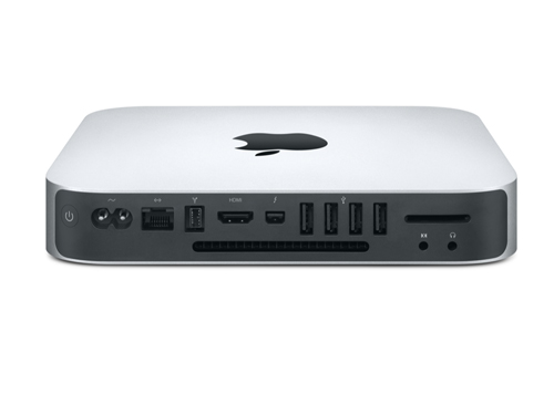 Apple Mac Mini MD387LL/A Back