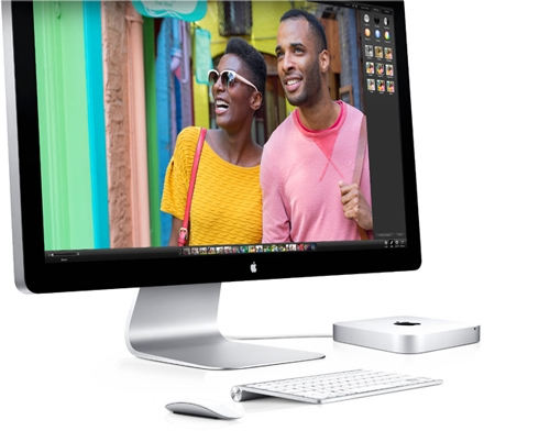 Apple Mac Mini MD387LL/A with Thunderbolt Display