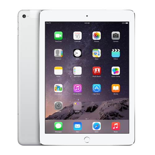 iPad Air 2 Silver Cellular 16GB MH2V2LL/A