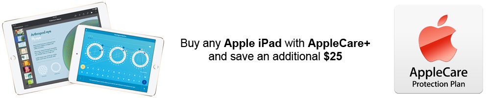 Buy an Apple iPad with AppleCare and Save at PortableOne.com