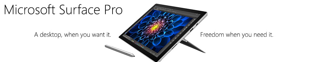 Microsoft Surface Pro On Sale On Line at Portable One