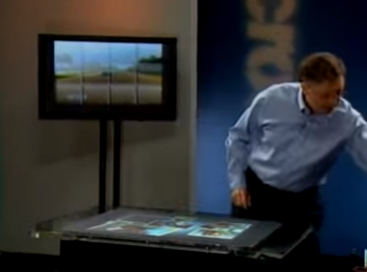 Remember The Original Microsoft Surface Table Now It Runs Windows 10