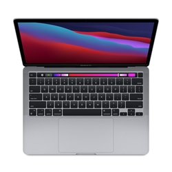 Apple 13-inch MacBook Pro with Touch Bar MYD82LL/A: Apple M1 chip with 8-core CPU and 8-core GPU, 256GB - Space Gray (Late 2020)