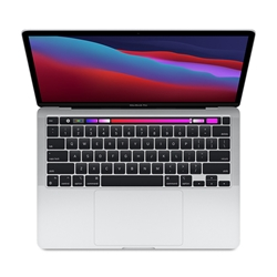 Apple 13-inch MacBook Pro with Touch Bar MYDA2LL/A: Apple M1 chip with 8-core CPU and 8-core GPU, 256GB - Silver (Late 2020)