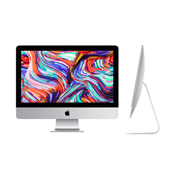 Apple 21.5-inch iMac with Retina 4K display MHK33LL/A: 3.GHz 6-core 8th-generation Intel Core i5 processor, 8GB RAM, 256GB SSD (Early 2020)
