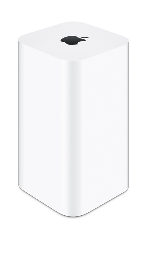 Apple Airport Extreme ME918LL/A Corner