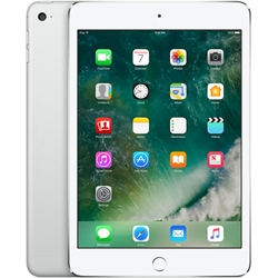 Apple iPad Mini 4 Wi-Fi + Cellular 128GB Silver MK8E2LL/A