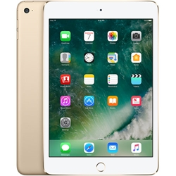 Apple iPad Mini 4 Wi-Fi + Cellular 128GB Gold MK8F2LL/A