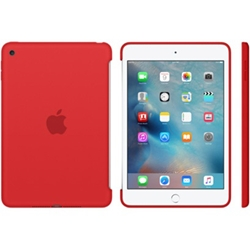 Apple iPad mini 4 Silicone Case Red MKLN2ZM/A