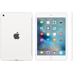 Apple iPad mini 4 Silicone Case White MKLL2ZM/A