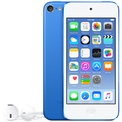 Apple iPod touch 128GB Blue MKWP2LL/A