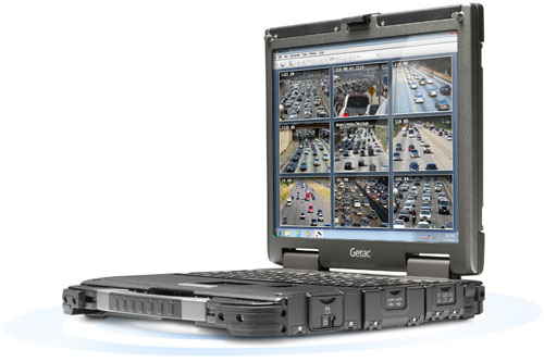 large notebook a display the laptop with is rug durabook semi rugged