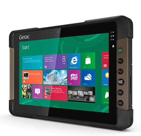 Getac T800 Fully rugged tablet TWC101