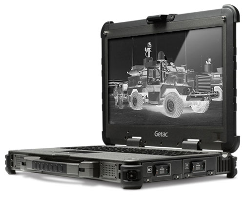 Getac X500 Ultra Rugged Laptop X500-JMPS2014