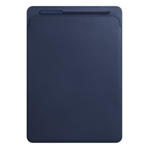 Leather Sleeve for 12.9-inch iPad Pro - Midnight Blue MQ0T2ZM/A