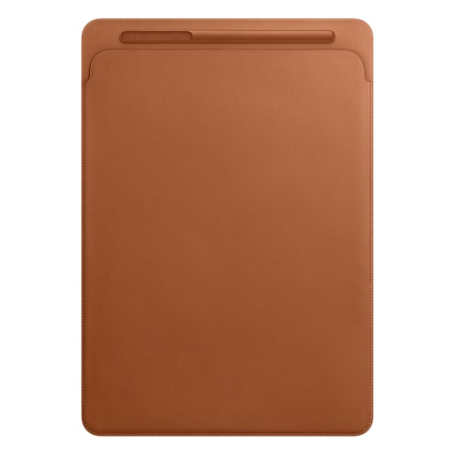 Leather Sleeve for 12.9-inch iPad Pro - Saddle Brown MQ0Q2ZM/A