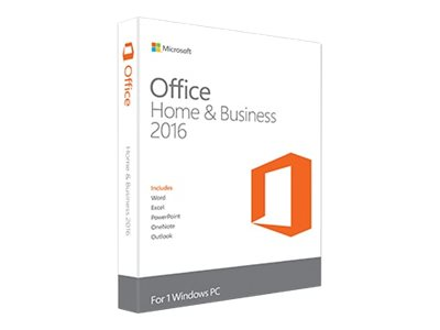 Microsoft Office Home and Business 2016 License T5D-02323