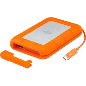 LaCie Rugged 250 GB External Solid State Drive