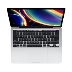 "Apple MacBook Pro 13"" With Touch Bar MWP72LL/A: 2.0GHz quad-core Intel Core i5 10th Gen, 16GB RAM, 512GB - Silver (Mid 2020)"