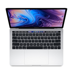 "Apple MacBook Pro 13"" With Touch Bar MUHQ2LL/A: 1.4GHz quad-core Intel Core i5, 8GB RAM, 128GB - Silver (Mid 2019)"