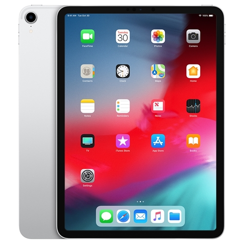 "Apple iPad Pro 11"" 512GB WiFi + Cellular Silver MU1U2LL/A"