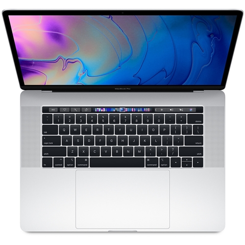 Apple 15-inch MacBook Pro with Touch Bar Z0V200076 : 2.9GHz 6-core 8th-generation Intel Core i9 processor, 1TB, 16GB RAM, 555X GPU - Silver Ice lake - 2018